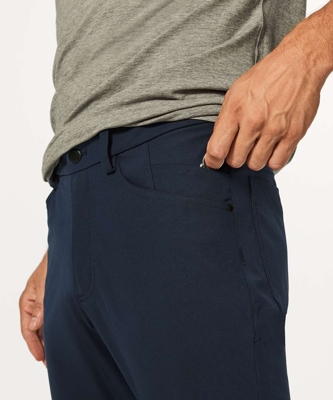 "Lululemon ABC Pant Classic *34"" - Nautical Navy"