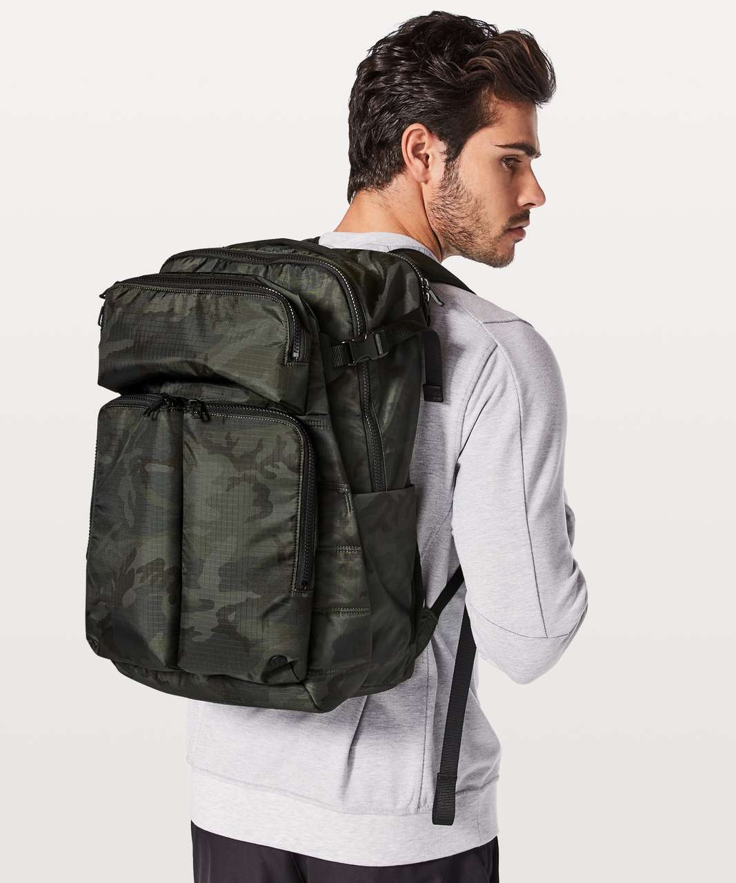 d489ce3a49 Lululemon Assert Backpack *30L - Woodland Camo Multi Green - lulu fanatics