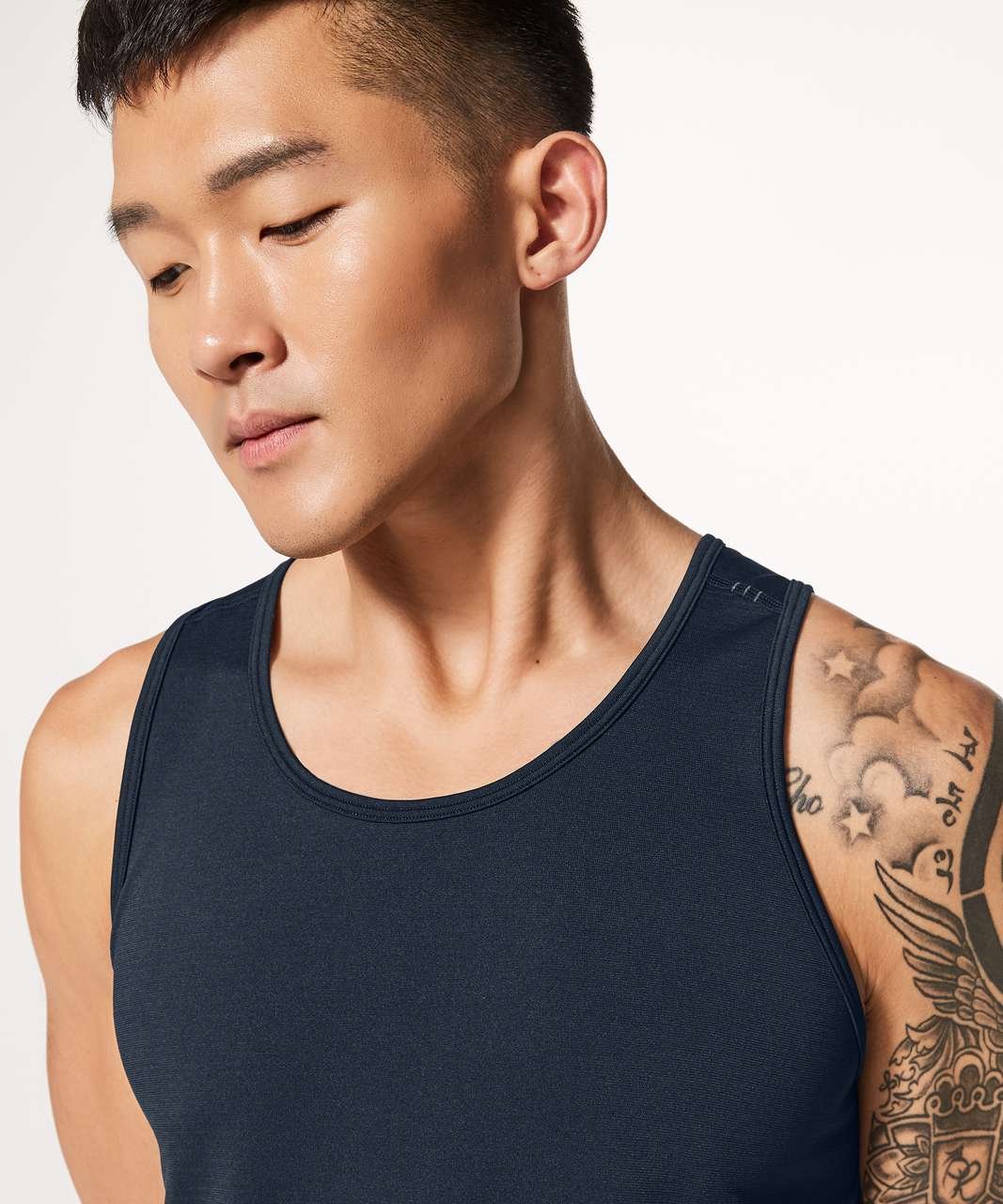 Lululemon Metal Vent Tech Tank - Nautical Navy / Nautical Navy (First Release)