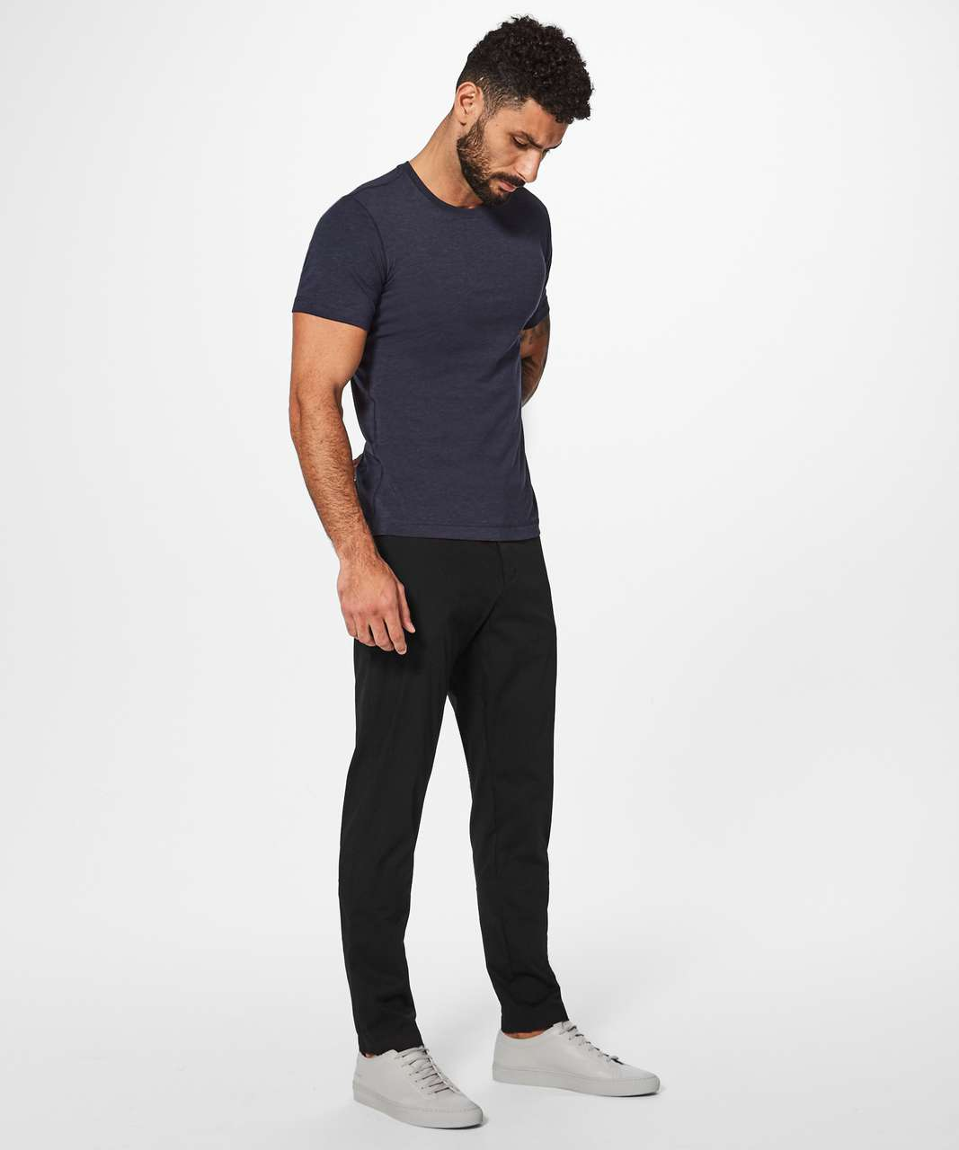 "Lululemon Commission Pant Classic *Swift Cotton 34"" - Black"