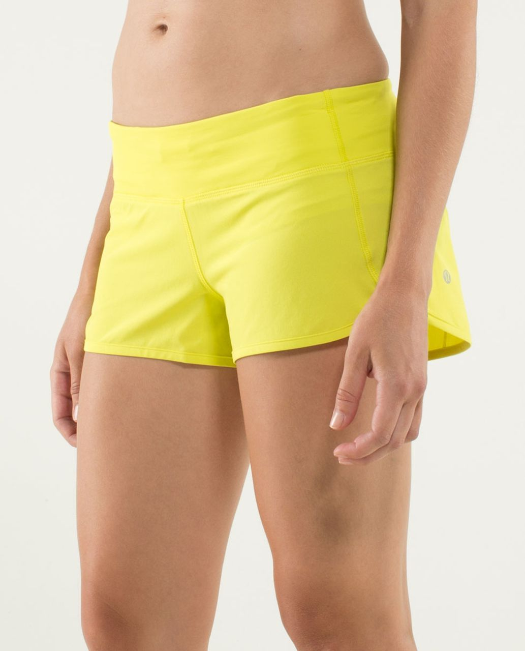 Lululemon Run:  Speed Short - Split Pea