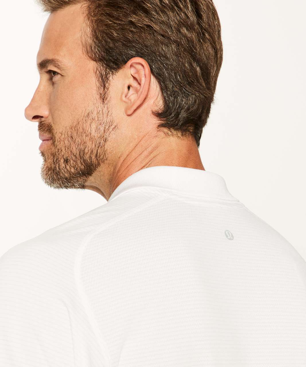 Lululemon Metal Vent Tech Polo - White / White (First Release)