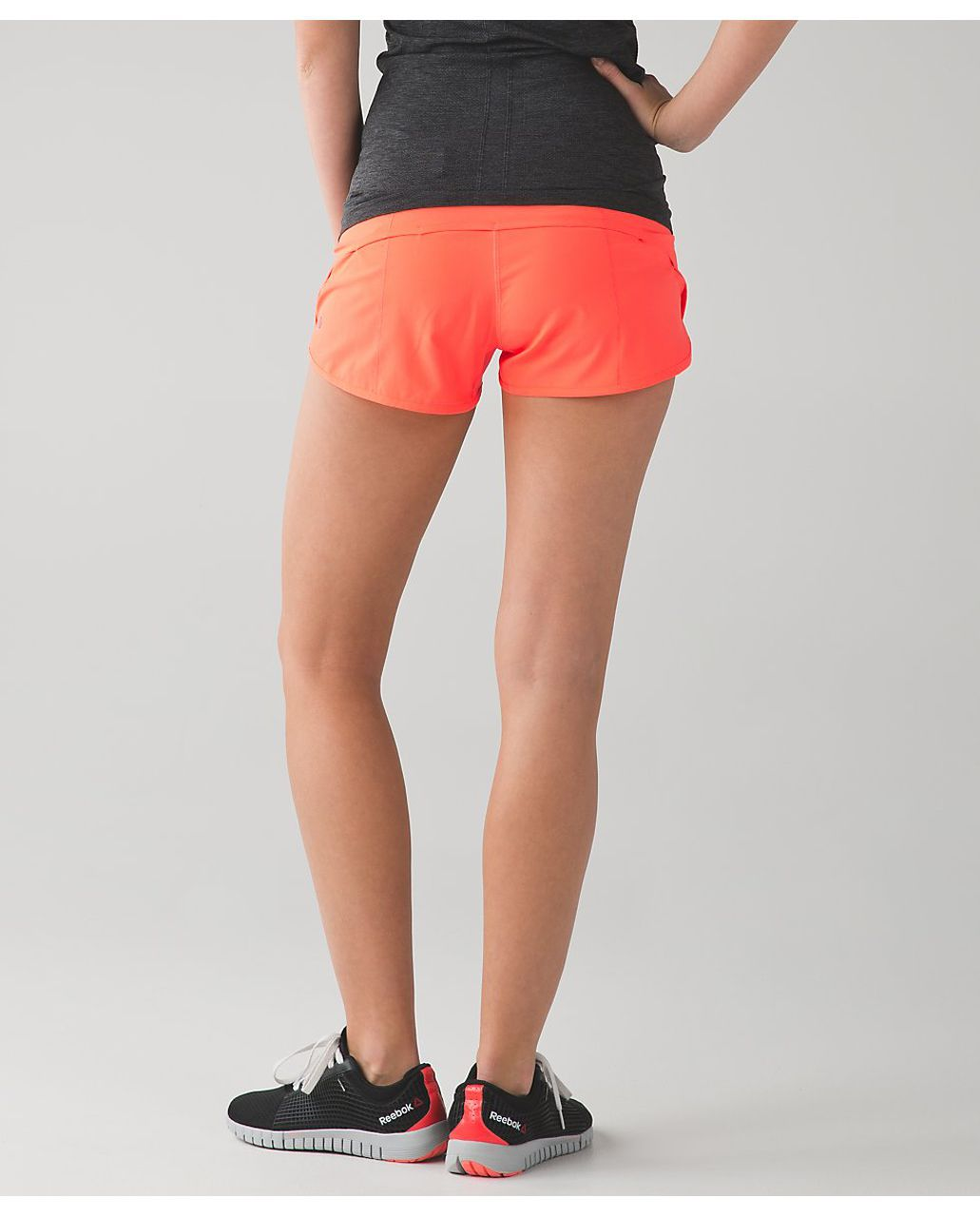 Lululemon Run:  Speed Short *4-way Stretch - Very Light Flare