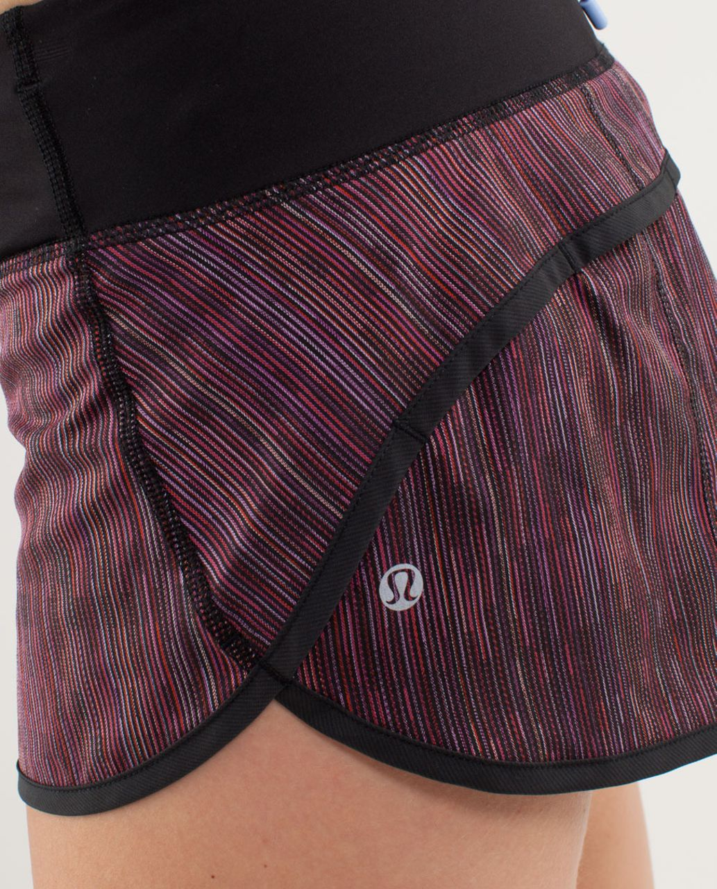 Lululemon Run:  Speed Short - Wee Are From Space Black March Multi / Black