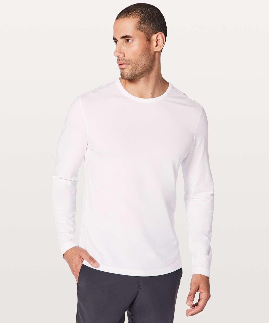 3596fc1a8e8a Lululemon 5 Year Basic Long Sleeve - White - lulu fanatics