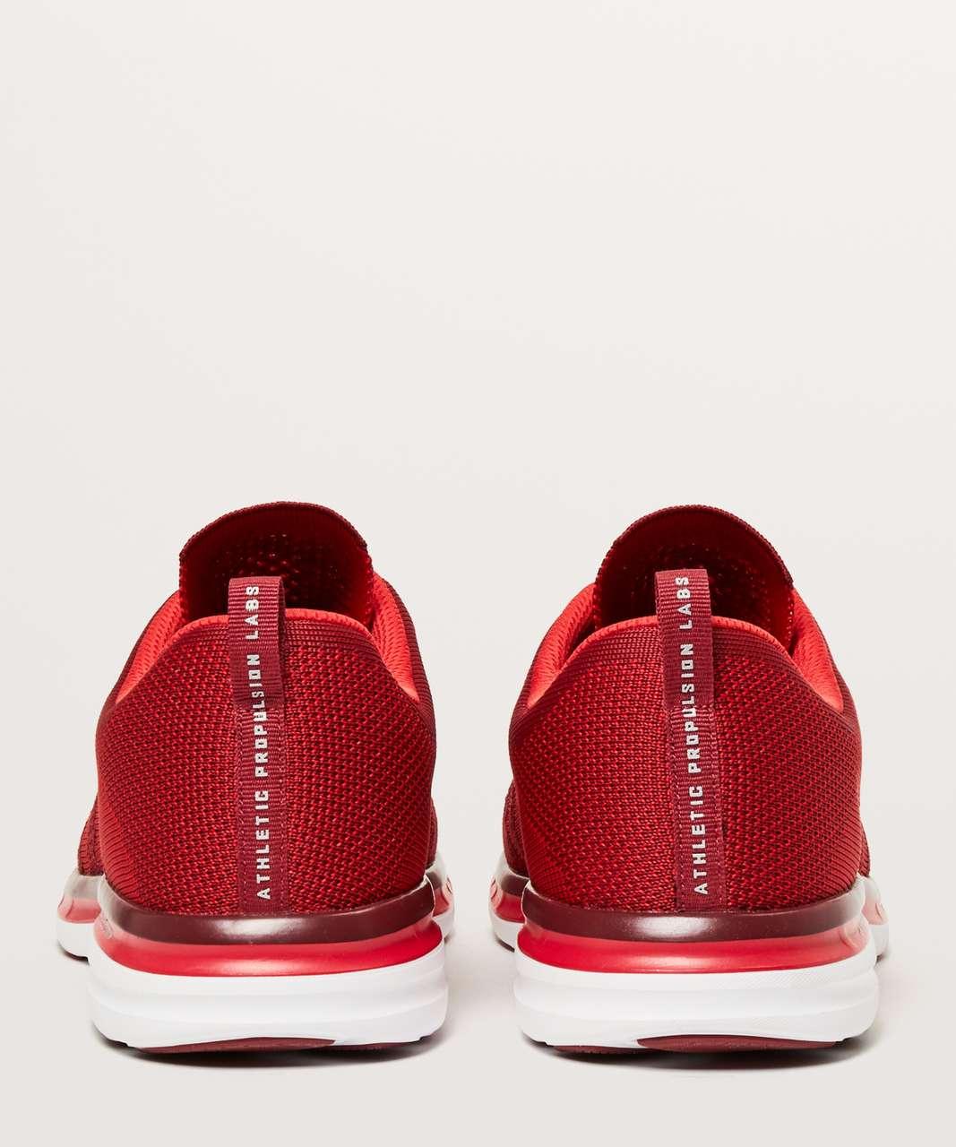 Lululemon Mens TechLoom Pro Shoe - Red / Deep Red