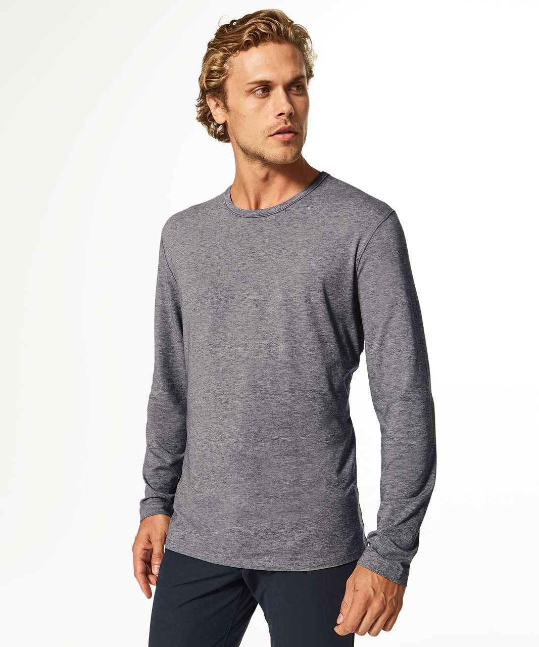 efe2b8ed60a9 Lululemon 5 Year Basic Long Sleeve - Heathered Medium Grey - lulu fanatics
