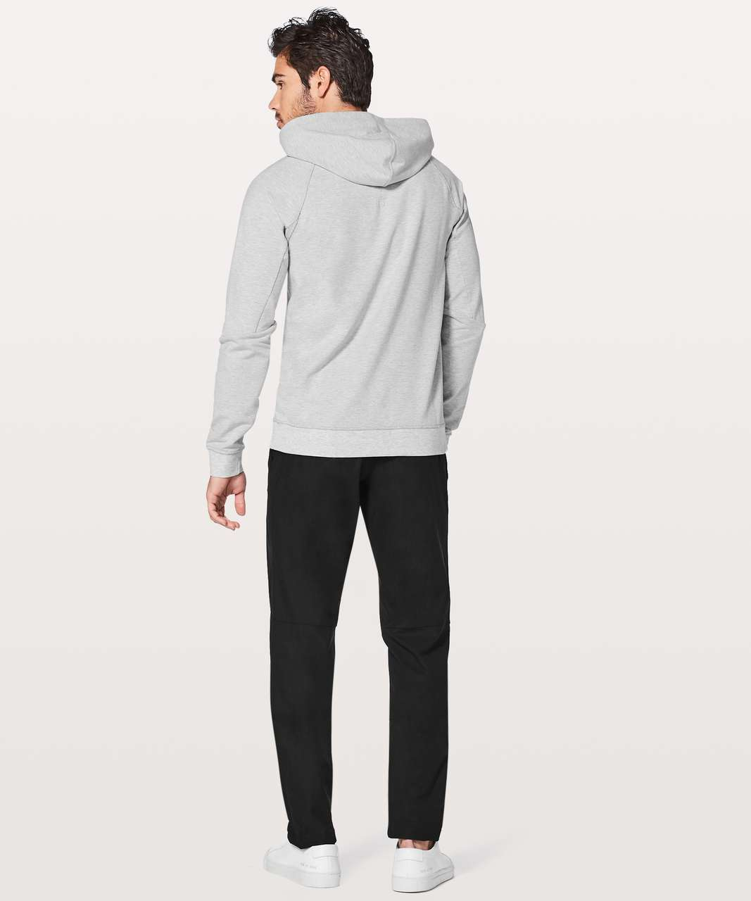 Lululemon City Sweat Pullover Hoodie - Heathered Ultra Light Grey
