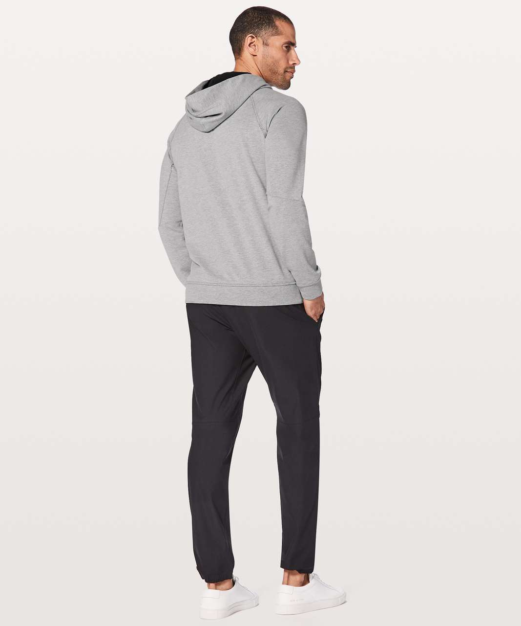 Lululemon City Sweat Pullover Hoodie - Heathered Medium Grey