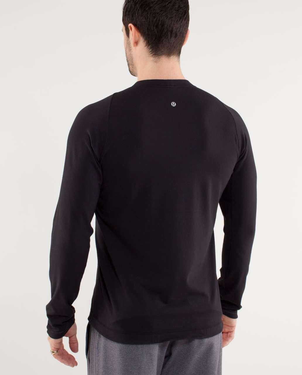 Lululemon Surge Long Sleeve - Black
