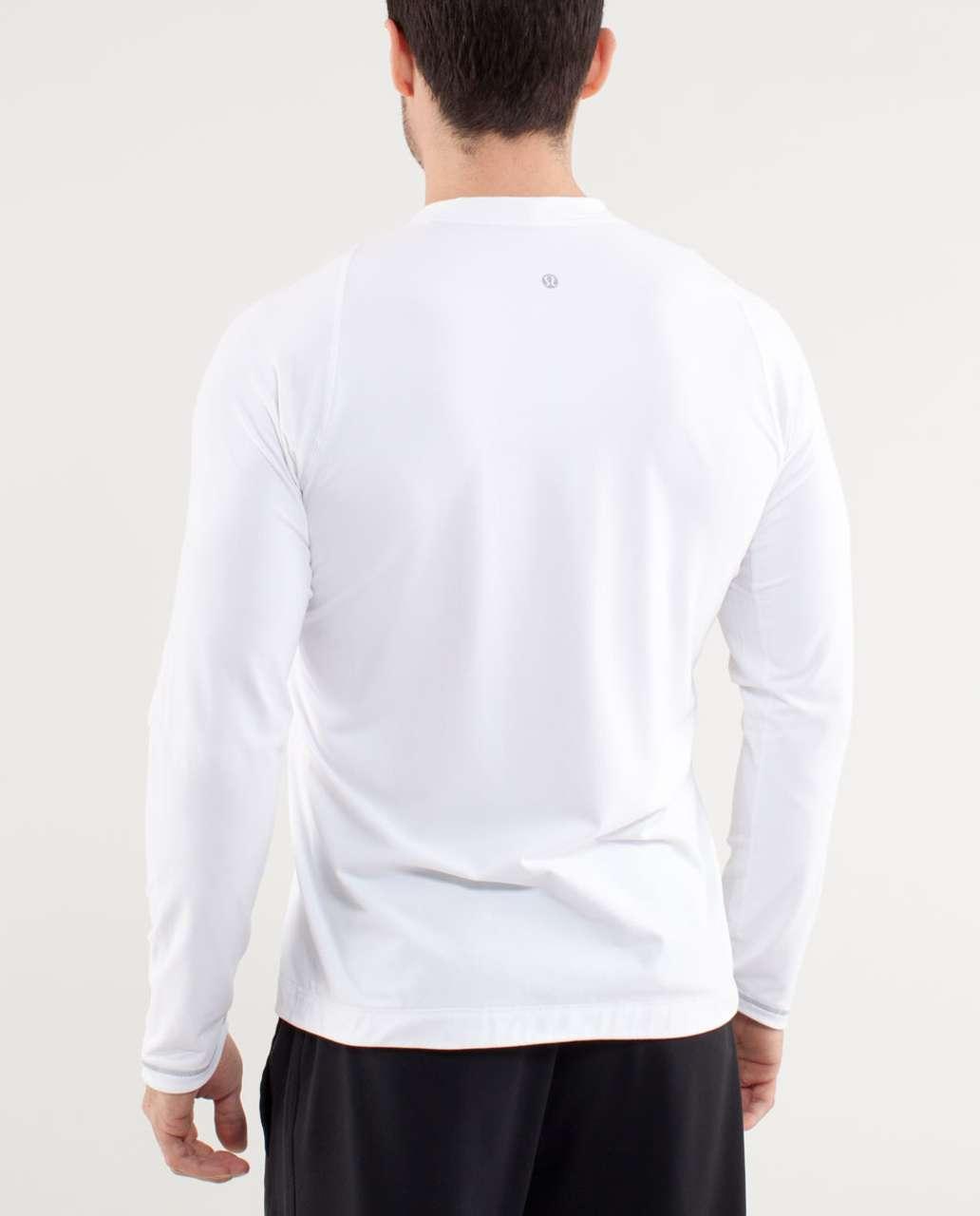 Lululemon Surge Long Sleeve - White