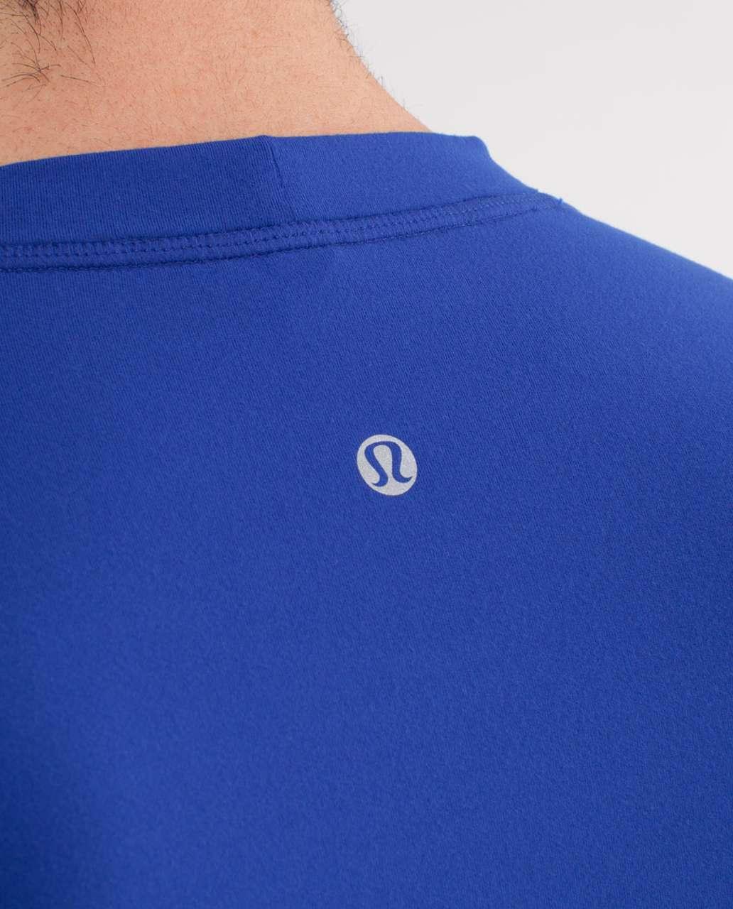 Lululemon Surge Long Sleeve - Sapphire Blue