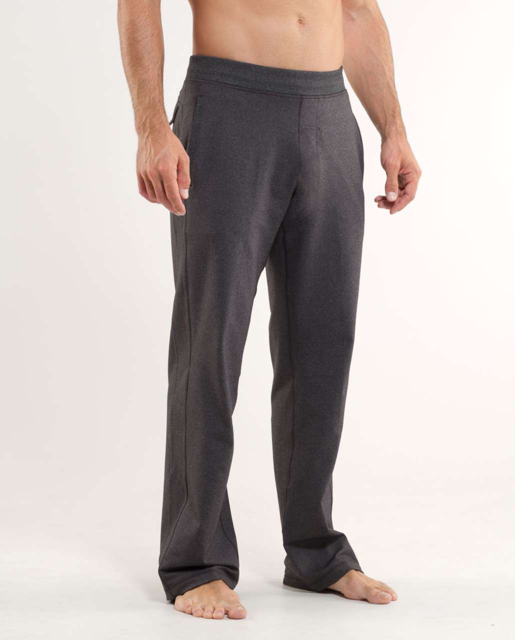 4d75e63b89 Lululemon Kung Fu Pant (Regular) - Heathered Black - lulu fanatics