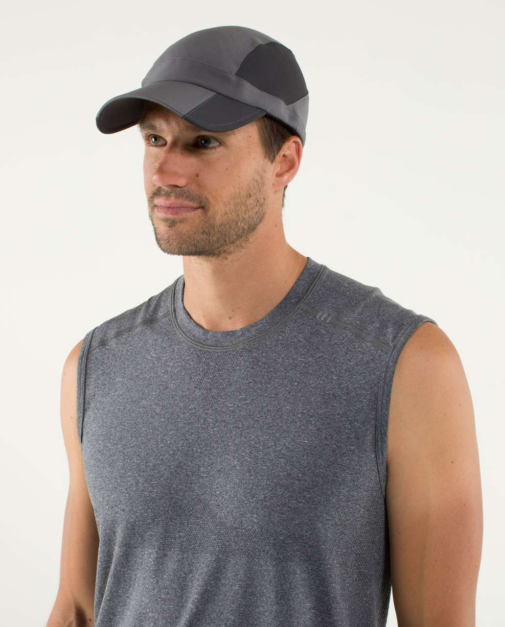 16481c61 Lululemon Precision Run Hat - Soot Light - lulu fanatics