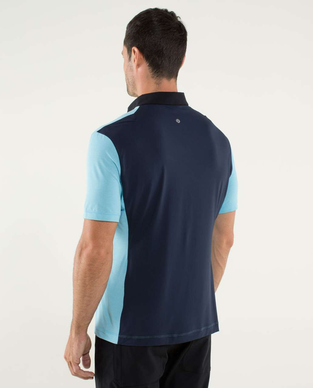Lululemon Precision Polo Heathered Blue Moon Lulu Fanatics