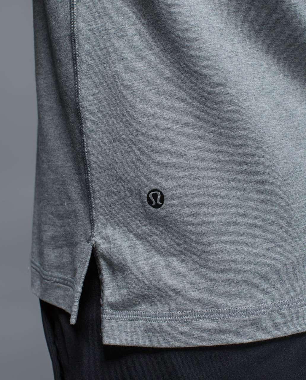 Lululemon Union Polo - Heathered Medium Grey / Slate