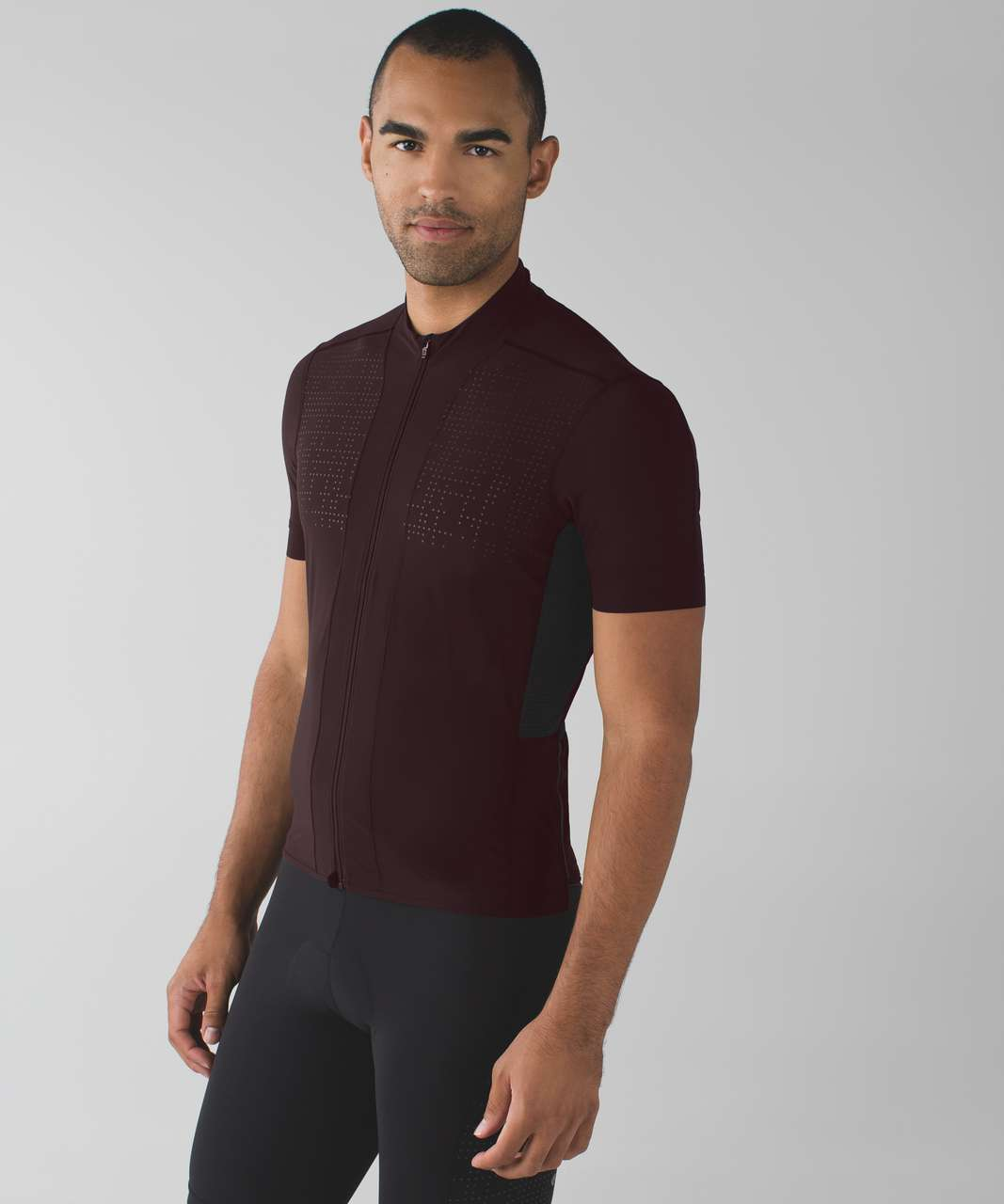 Lululemon Sea To Sky Jersey - Black Cherry - lulu fanatics 42d7c5368