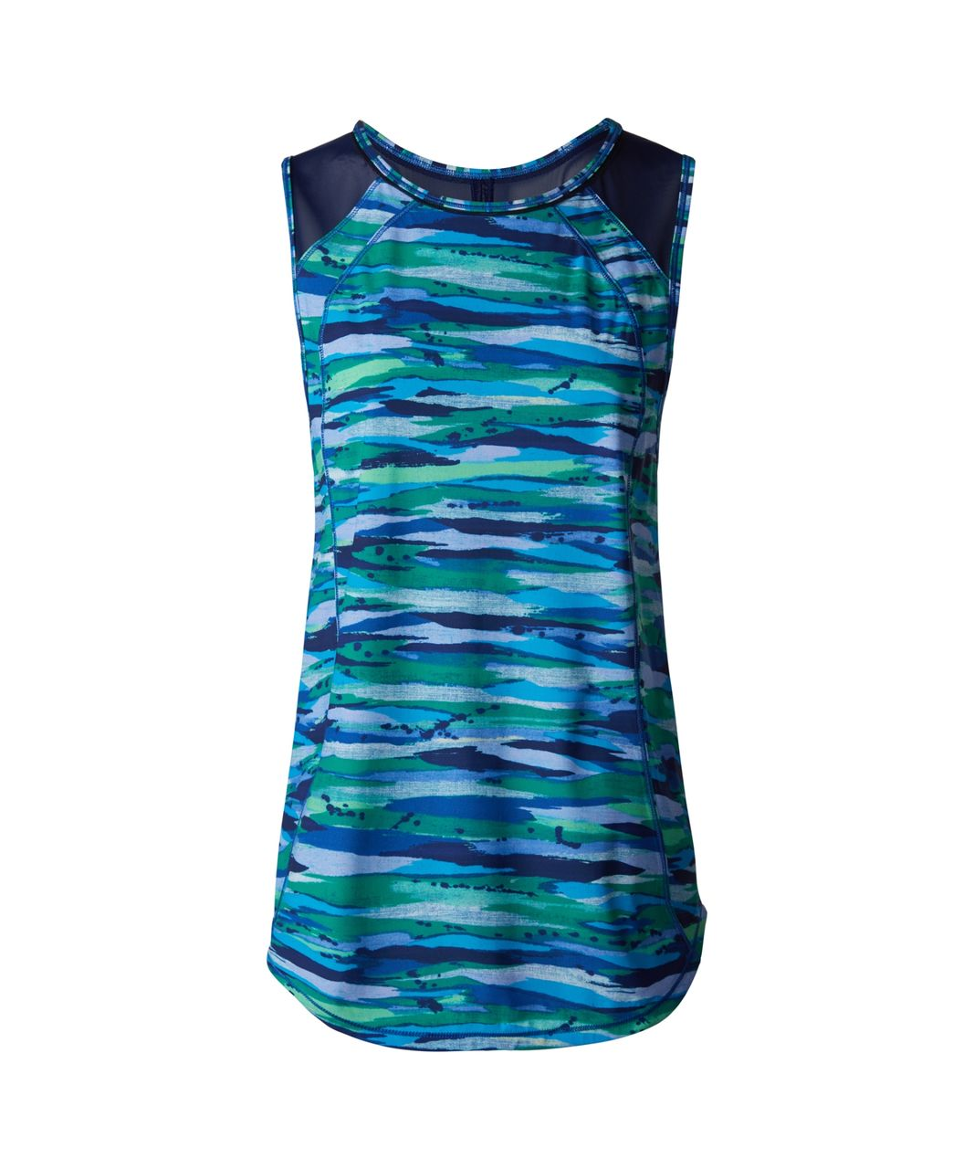 Lululemon Sculpt Tank - Seven Wonders Multi / Hero Blue