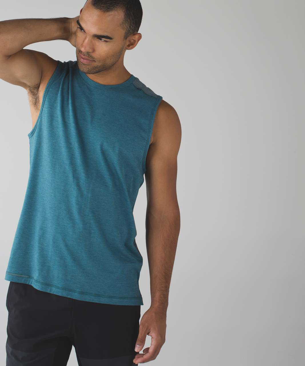 Lululemon Catalyst Camo Sleeveless - Heathered Desert Teal