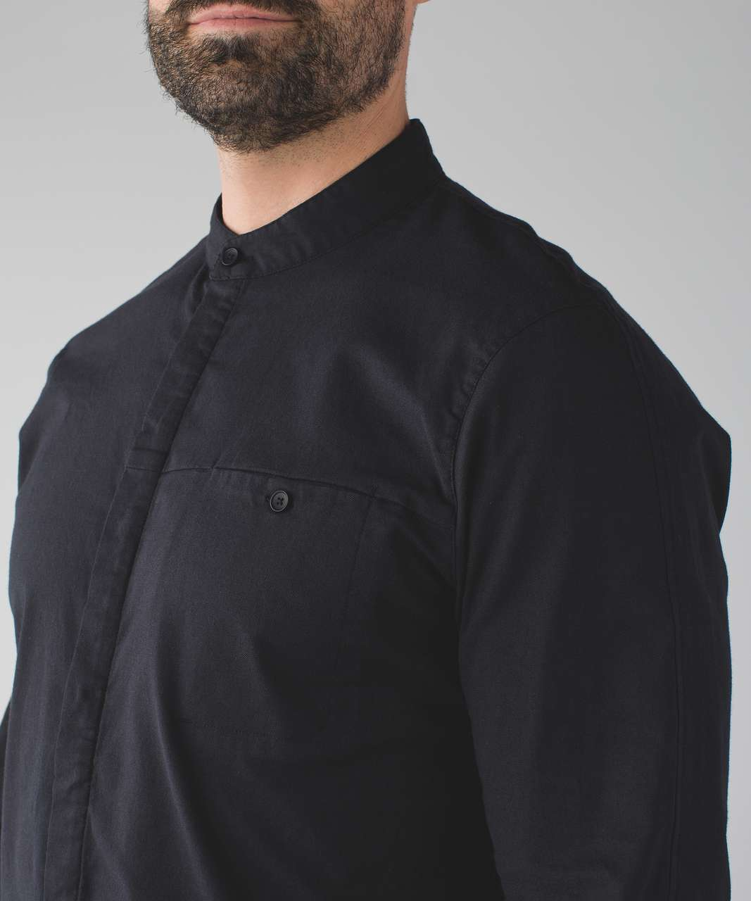 Lululemon Breezy Buttondown - Black