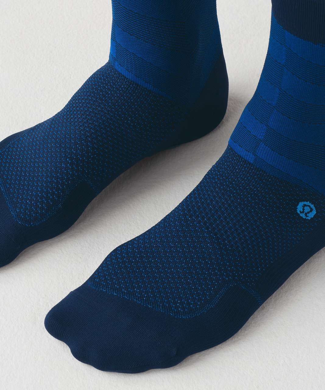 Lululemon City Sock Silver - Nautical Navy / Riviera / Velo Blue