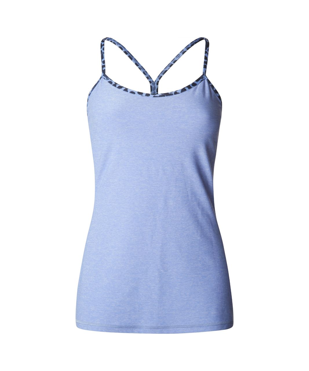 Lululemon Power Y Tank - Heathered Lullaby