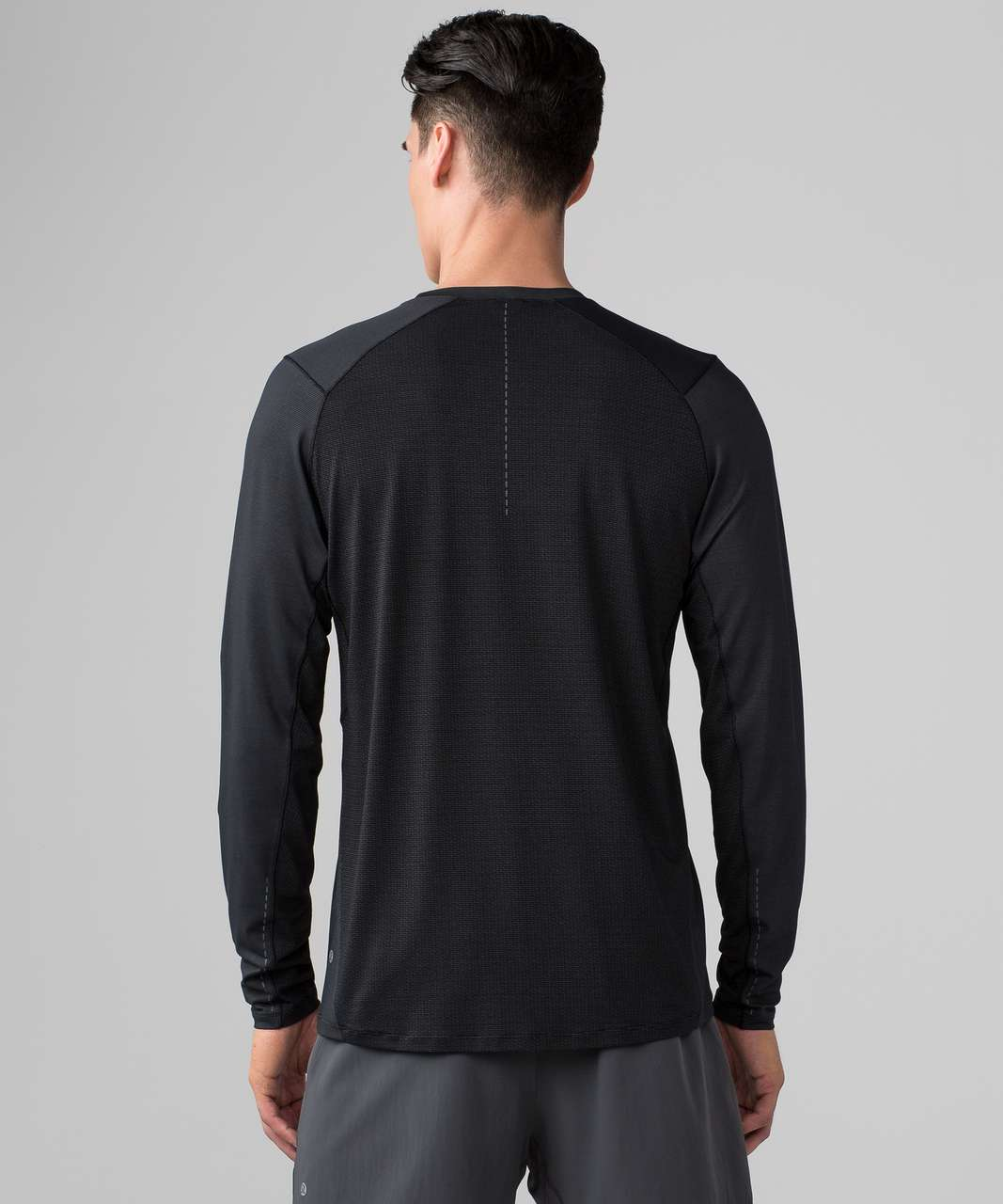 Lululemon All Terrain Long Sleeve - Black