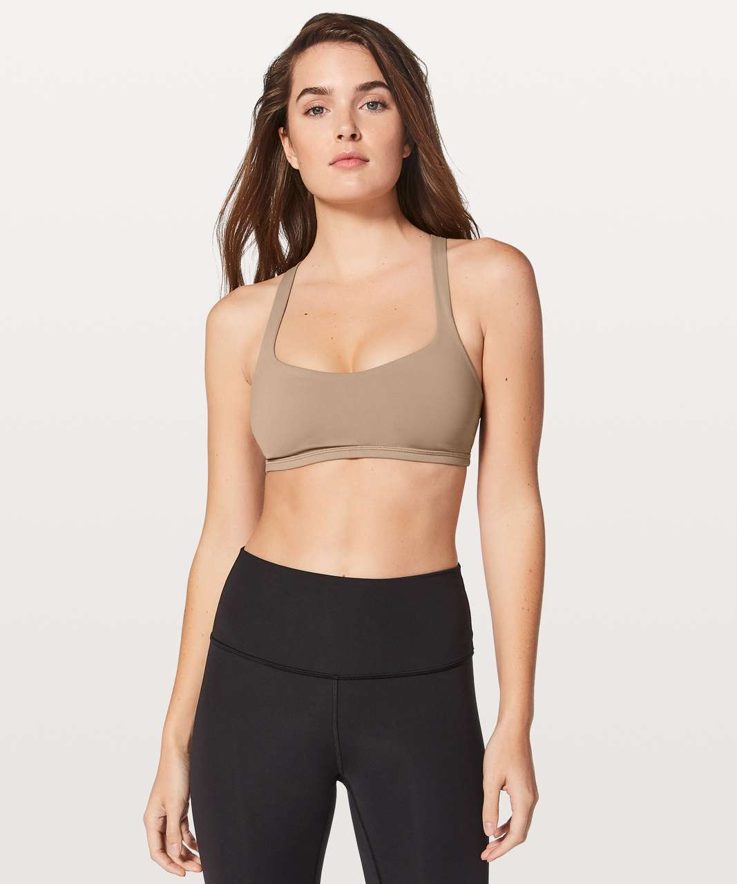 Lululemon Free To Be Bra - Soft Sand