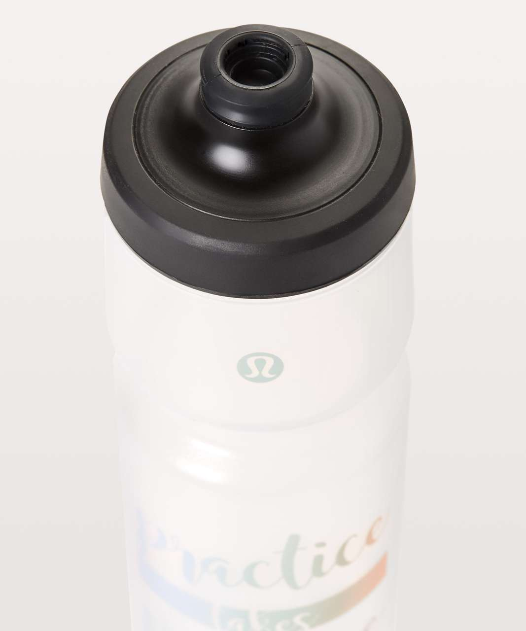 Lululemon Purist Cycling Water Bottle *26 oz - Purist Practice Takes Practice Breezy Tonic Sea