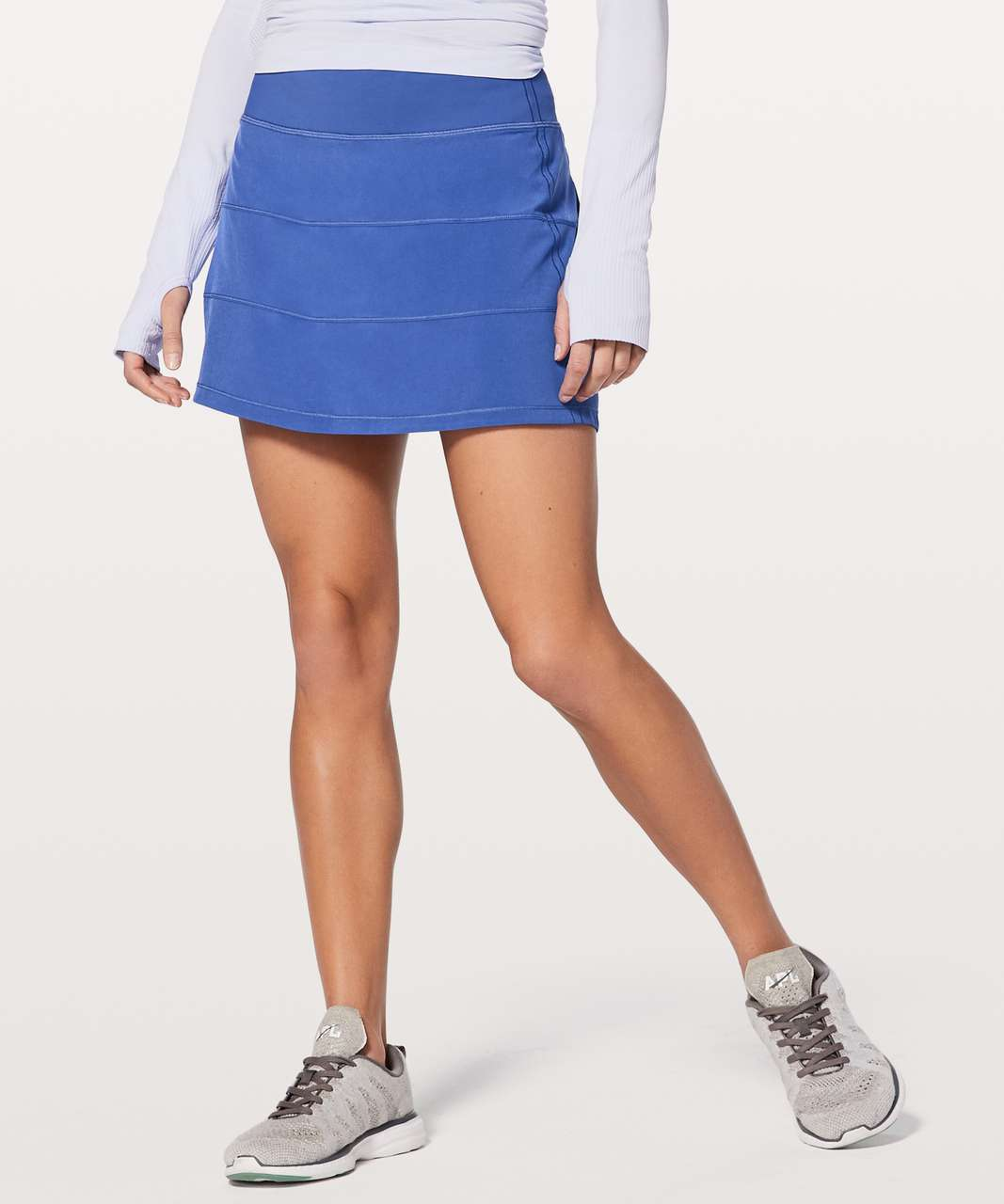 """Lululemon Pace Rival Skirt (Tall) 4-way Stretch 15"""" - Moroccan Blue"""