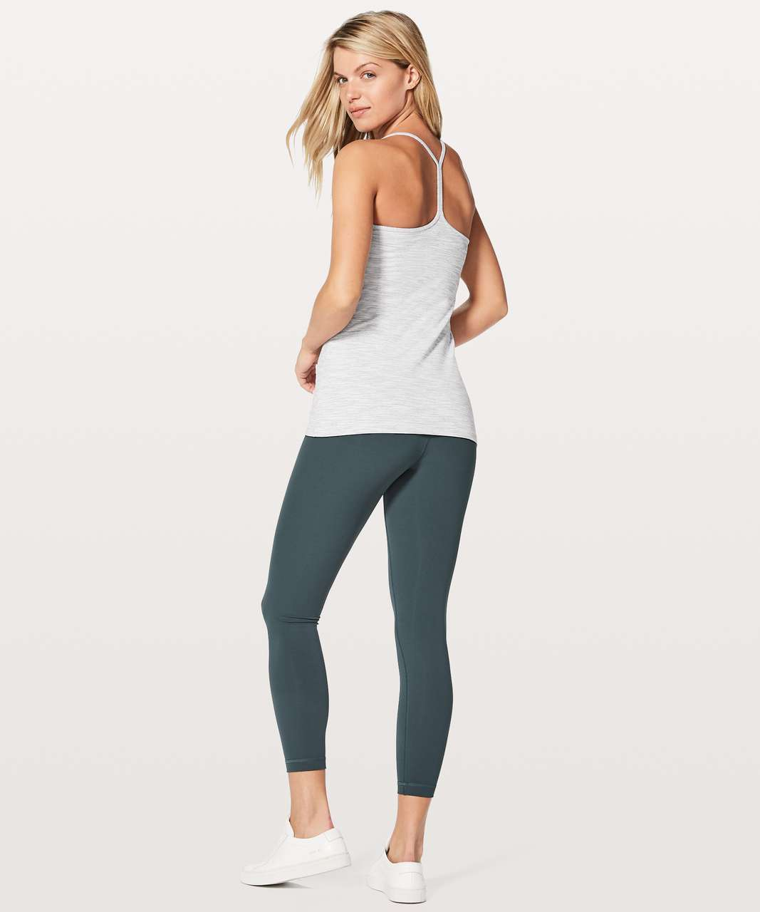 Lululemon Power Pose Tank *Light Support For A/B Cup - Wee Are From Space Nimbus Battleship