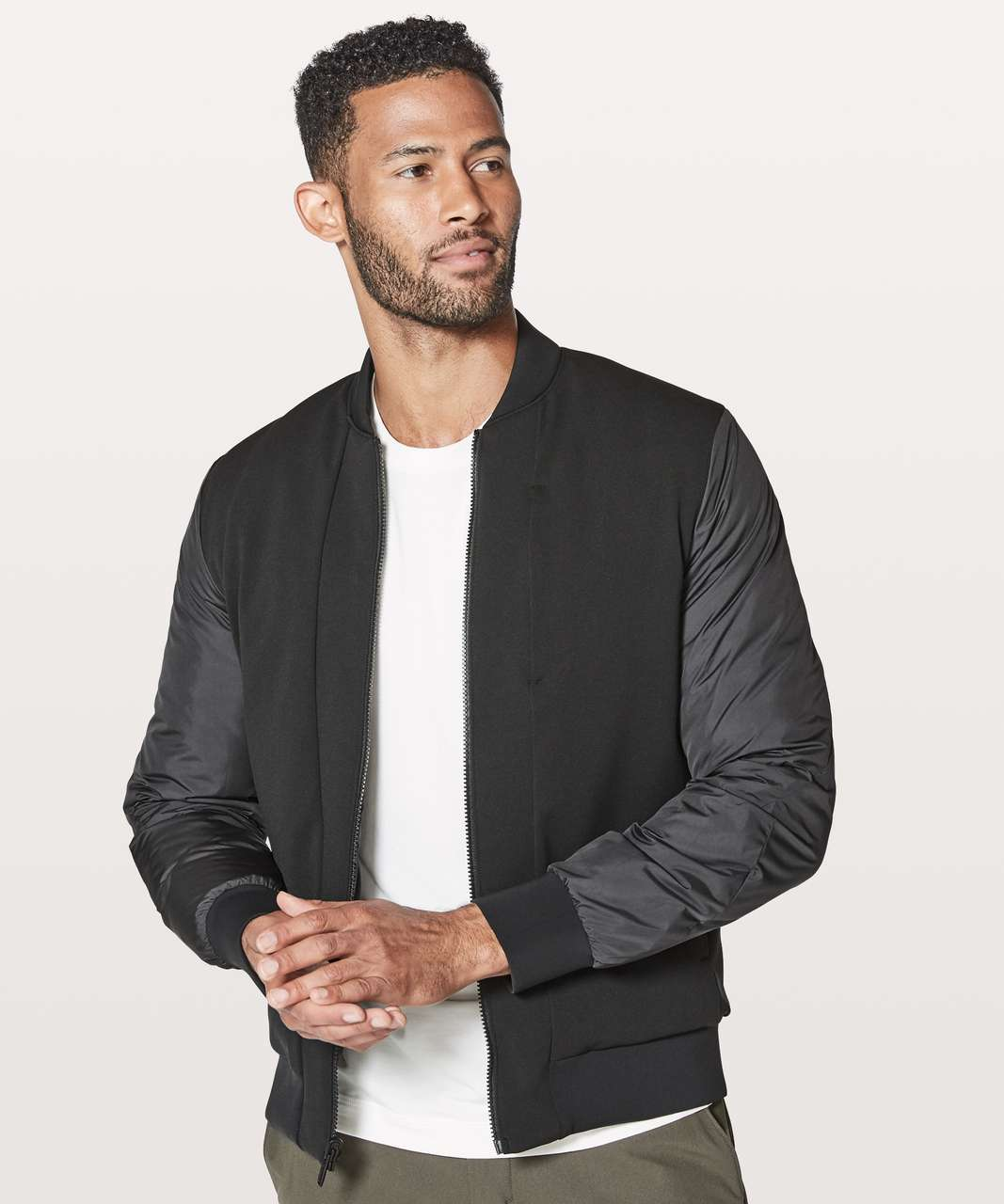 028241fad Lululemon About-Face Bomber - Black (First Release)