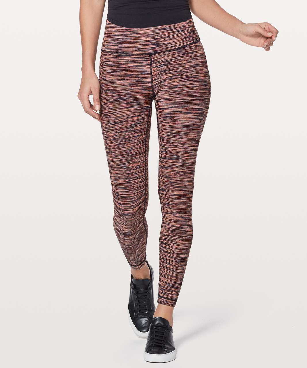 "Lululemon Wunder Under Hi-Rise 7/8 Tight *Luxtreme 25"" - Warp Speed Filtered Orange Electric Coral"