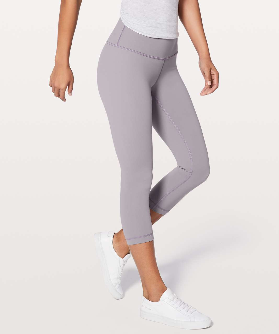 "Lululemon Wunder Under Crop (Hi-Rise) *Full-On Luxtreme 21"" - Dusty Dawn"