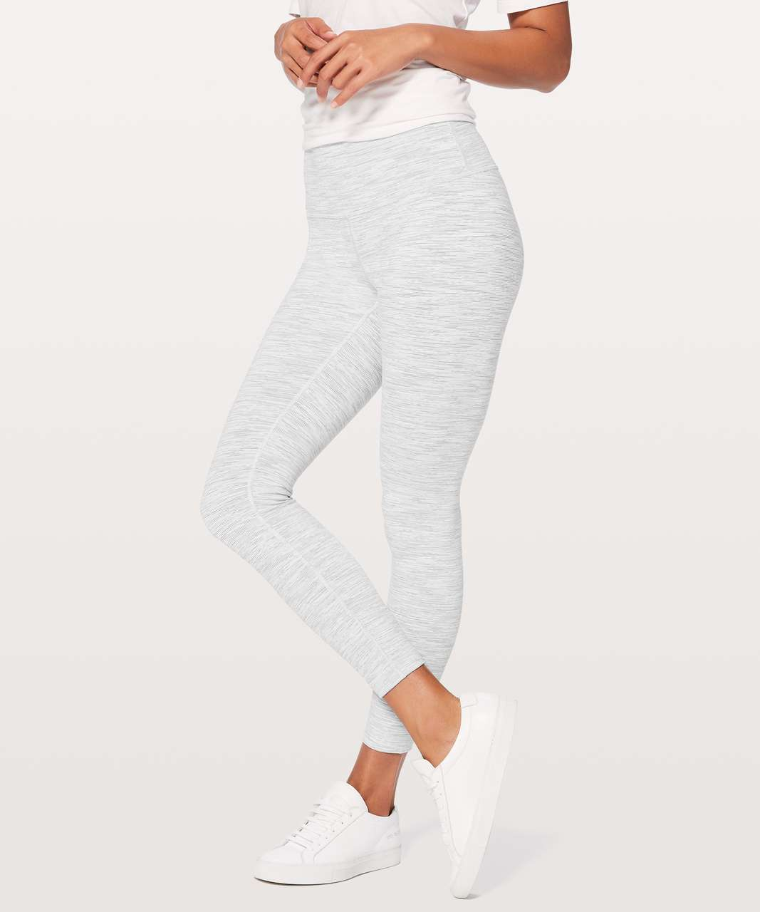 "Lululemon Wunder Under Hi-Rise 7/8 Tight *25"" - Wee Are From Space Nimbus Battleship"
