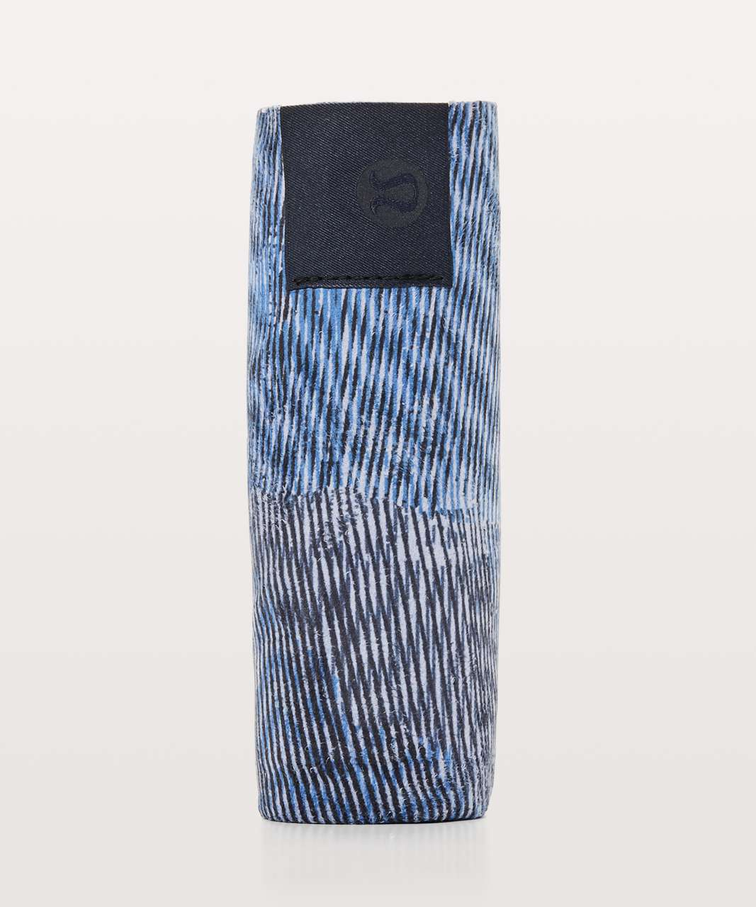 Lululemon The (Small) Towel - Linear Flux Ice Grey Multi