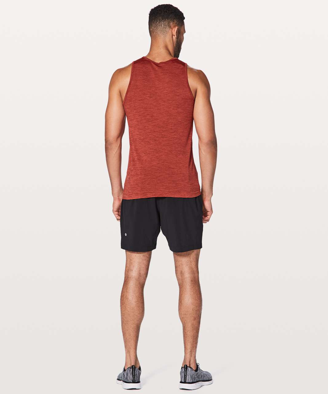 Lululemon Metal Vent Tech Surge Tank - Oxidized / Terracotta Warrior