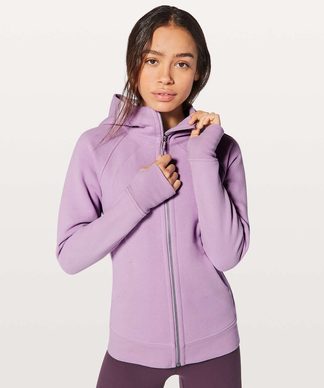 Lululemon Scuba Hoodie *Light Cotton Fleece - Lilac Quartz