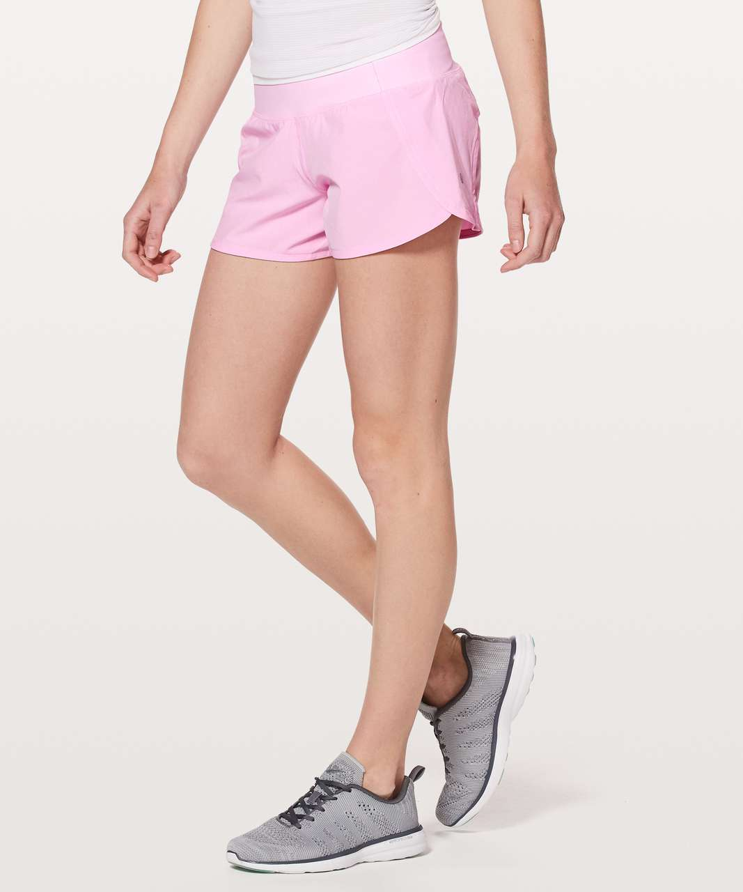 "Lululemon Run Times Short II*4"" - Pearl Pink"