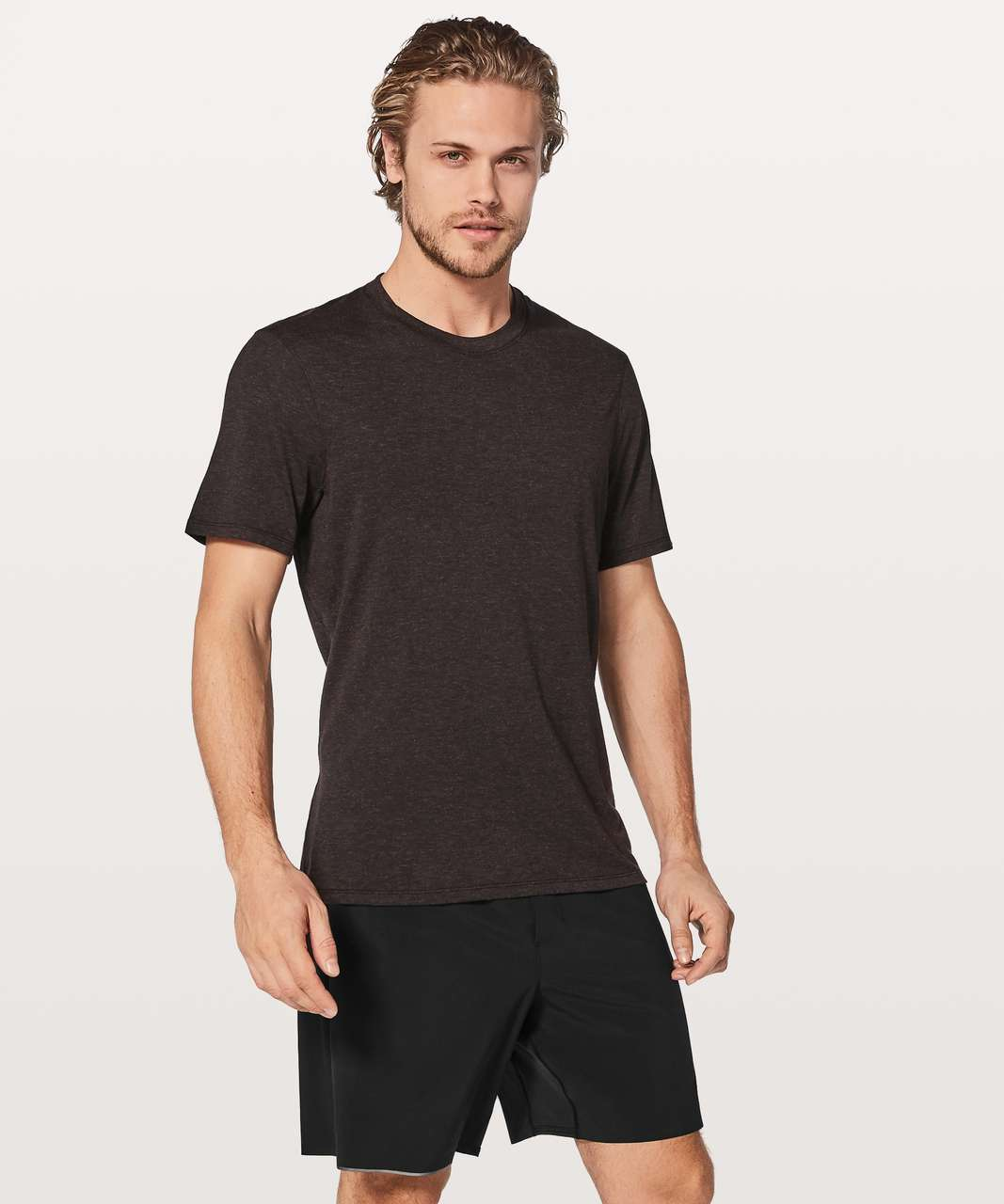 Lululemon Somatic Aero Short Sleeve - Deep Phantom