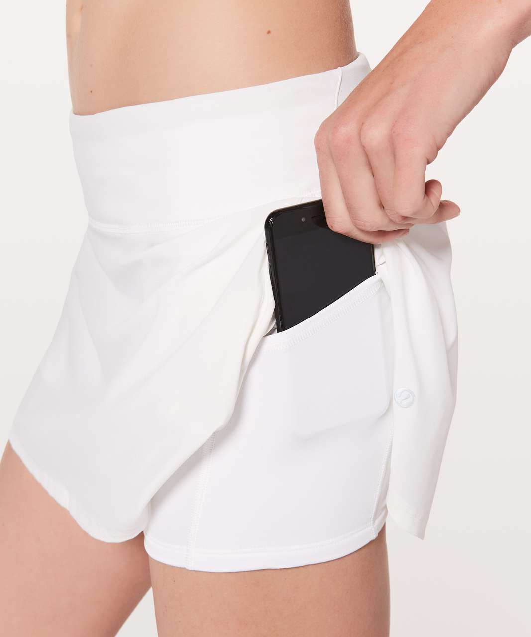 """Lululemon Play Off The Pleats Skirt *13"""" - White (First Release)"""