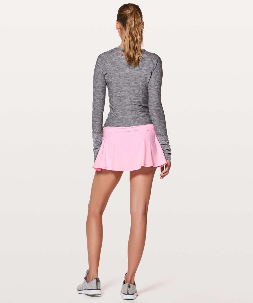 "Lululemon Play Off The Pleats Skirt *13"" - Pearl Pink (First Release)"