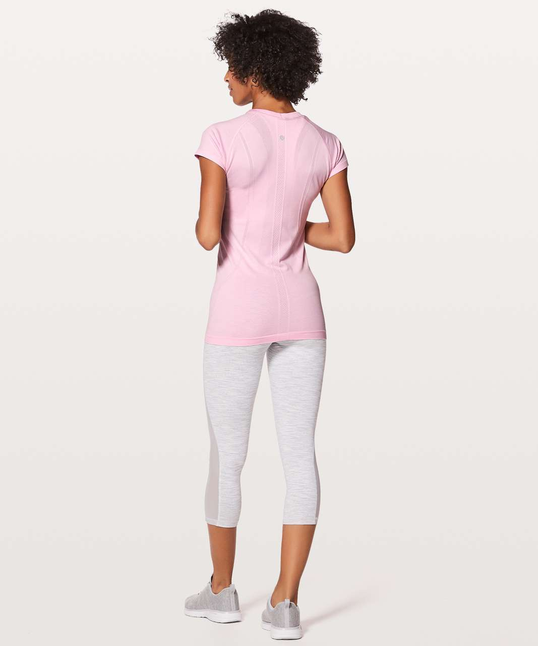 Lululemon Swiftly Tech Short Sleeve Crew - Pearl Pink / Pearl Pink