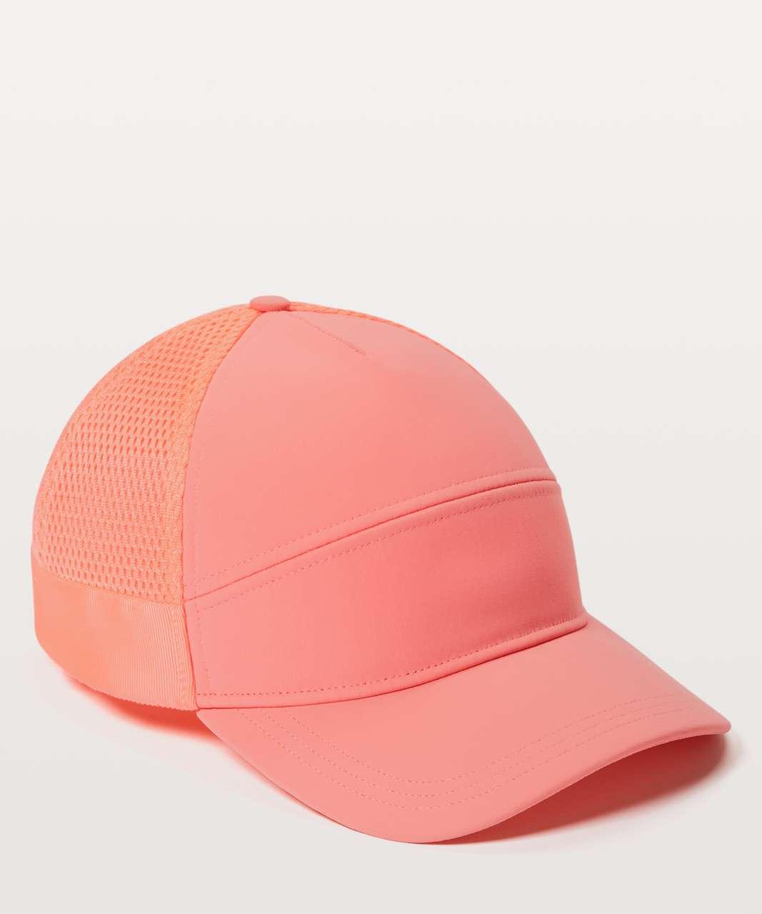 Lululemon Dash & Splash Cap II - Light Coral / Sunset