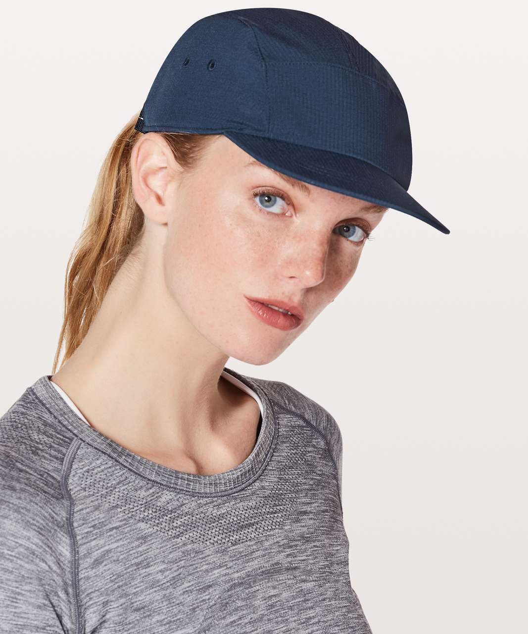 508a5455 Lululemon Five Times Hat - True Navy - lulu fanatics
