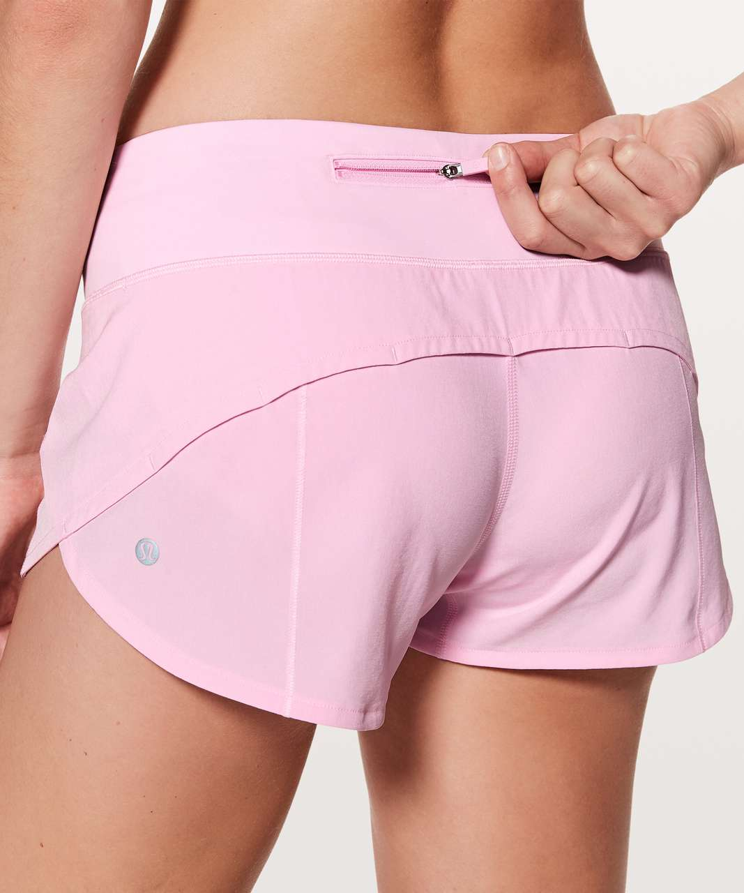 "Lululemon Speed Up Short *2.5"" - Pearl Pink"