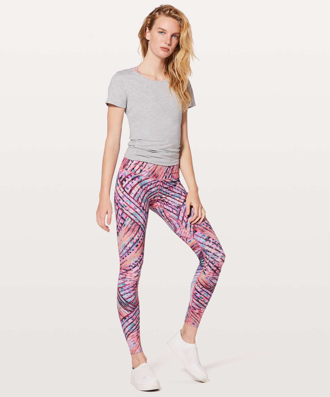 "Lululemon Wunder Under Hi-Rise Tight *Central Saint Martins Nulux 28"" - Kascade Wunder Under Multi"