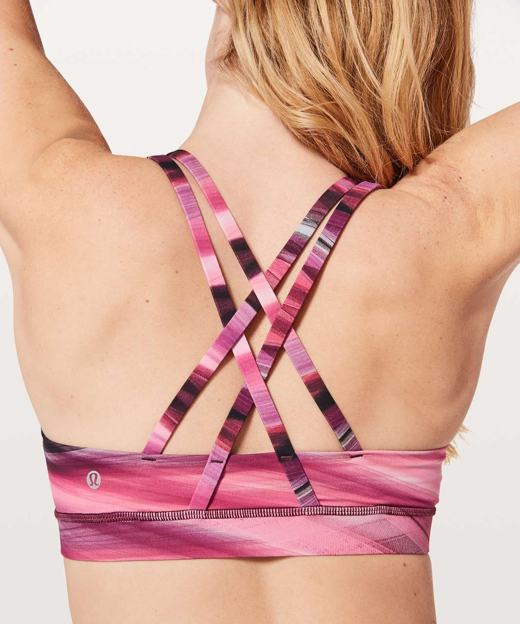 Lululemon Energy Bra *Central Saint Martins Nulux - Tulle Energy Bra Multi