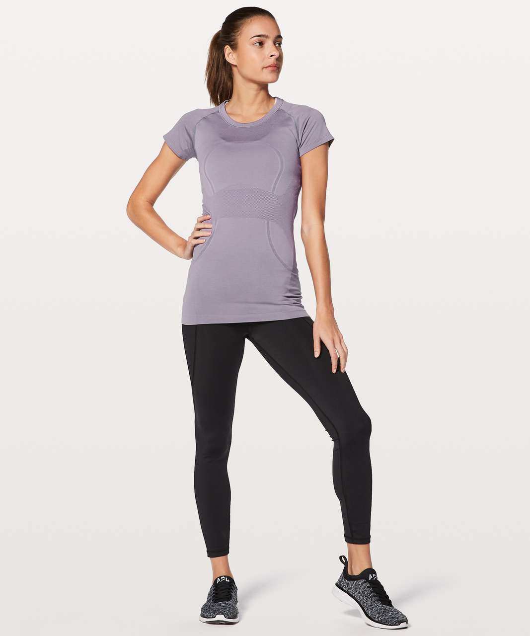 Lululemon Swiftly Tech Short Sleeve Crew - Dusty Dawn / Dusty Dawn