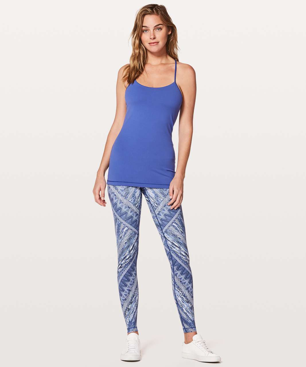 Lululemon Power Pose Tank *Light Support For A/B Cup - Moroccan Blue